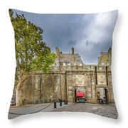 Saint-malo Gates Throw Pillow
