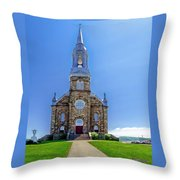Saint Peter's Catholic Church Throw Pillow