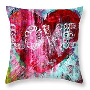 Saint Valentines Day Throw Pillow