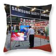 Sales Promotion For Electric Household Appliances Throw Pillow