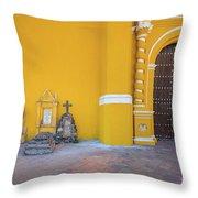 San Gabriel Tombs Throw Pillow