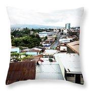 San Jose Costa Rica Throw Pillow