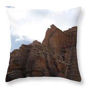 Sandstone Hoodoos Throw Pillow