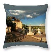 Saint Rose De Lima Chapel Throw Pillow