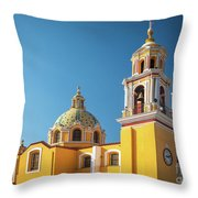 Santuario De Nuestra Senora De Los Remedios Throw Pillow