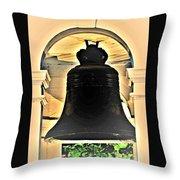 Savannah Exchange Bell Throw Pillow