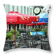 Savannah Join Us Out Here Throw Pillow