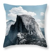 Scenic View Of Rock Formations, Half Throw Pillow