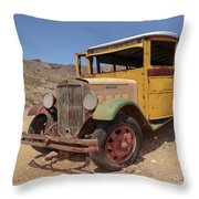 School Is Out For Summer Square Throw Pillow