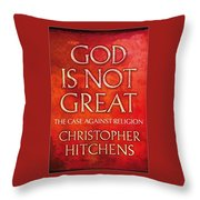 Science Wins Throw Pillow