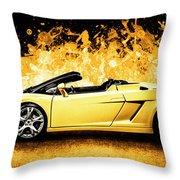 Scorcher Throw Pillow