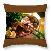 Scrumptious  Throw Pillow