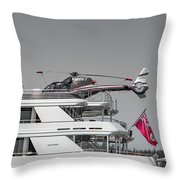 Sea And Air Turks And Caicos Throw Pillow