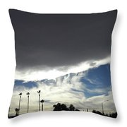 Sea Of Darkness 2 Throw Pillow