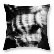 Sea Spiral  Throw Pillow