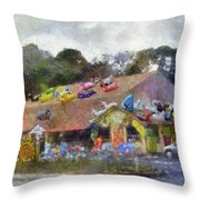 Seaberry Surf The Shops Of Cape Cod Massachusetts Pa Throw Pillow