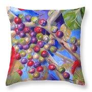 Seagrapes Throw Pillow