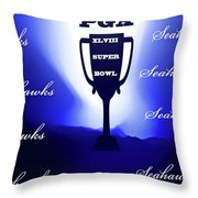 Seahawks Super Bowl Champions Throw Pillow