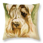 Sealyham Terrier Throw Pillow
