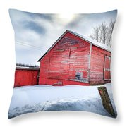 See Red. Throw Pillow by Kendall McKernon
