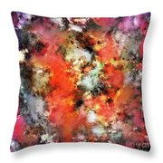 See The Flames Throw Pillow