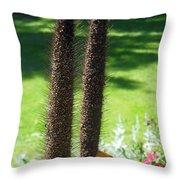 Seed Stalks 2 Throw Pillow