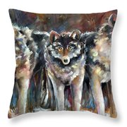 Seen And Unseen Throw Pillow