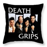 Seinfeldblackflag Throw Pillow