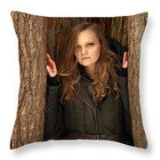 Self Portrait #29 Throw Pillow