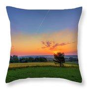 September Morning Throw Pillow