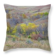 September Perfection On The Western Edge Throw Pillow