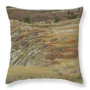 September Reverie In Dakota West Throw Pillow