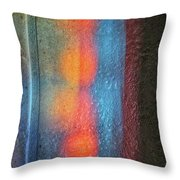 Serendipitous Abstract Throw Pillow