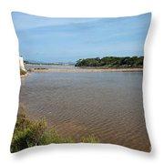 Ses Salines De Formentera Throw Pillow