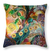 Seven Spices Of Holy Land I Throw Pillow