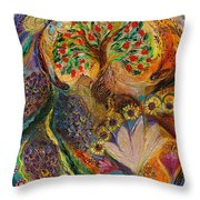 Seven Spices Of Holy Land Iv Throw Pillow