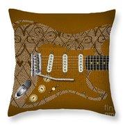Sexy Music Throw Pillow