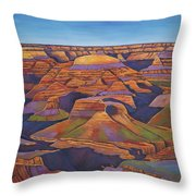 Shadows And Breezes Throw Pillow