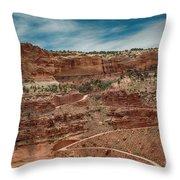 Shafer Trail. #2 Throw Pillow