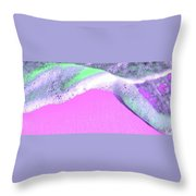 Sherbet Shores Throw Pillow
