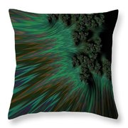 Sherwood Forest. Throw Pillow