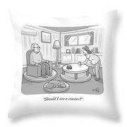 Should I Use A Coaster Throw Pillow