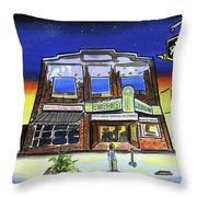 Show Time-acadia Cinema Throw Pillow
