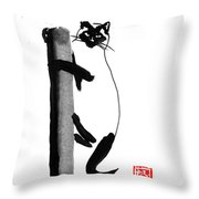 Siamese 03 Throw Pillow