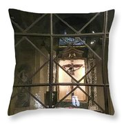 Side Alter Throw Pillow