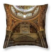 Side Dome Throw Pillow