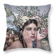 Silent Messenger Throw Pillow