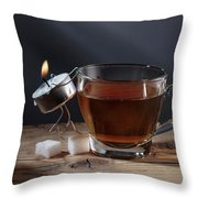 Simple Things - Couple Throw Pillow