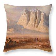 Sinai Throw Pillow