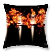 Singeing Stage Show Throw Pillow